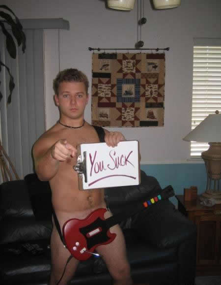 youre-right-naked-d-bag-playing-guitar-hero-we-are-ones-suck 500x500